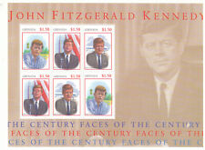 Grenada 2001 Kennedy & Regan 4x  mini sheets MNH