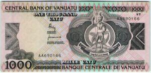 Vaniatu 1000 Vatu 1982 🔸UNC🔸 P-3 Banknote - k166