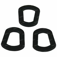 3 pack - Jerry Can Spout Lid Replacement Seals - Rubber