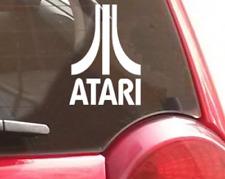 Retro Atari Logo Vinyl sticker Car decal Window or Laptop Arcade Gaming
