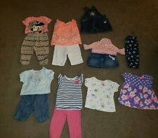 Lot of 14 Infant Girls Clothing Outfits Spring & Summer Size 6-9 Months