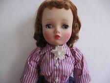 "1957 MADAME ALEXANDER 20"" CISSY ""TAGGED OUTFIT""  #2114 CRISP near MINT !!"