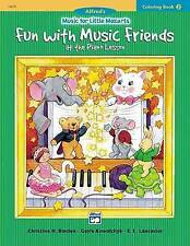 Music for Little Mozarts Coloring Book, Bk 2: Fun with Music Friends at School