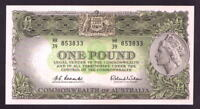 Australia R-34. (1961) One Pound.. Coombs/Wilson... Reserve Bank... UNC