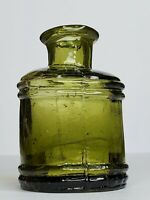 1800's Antique Glass Ink.Inkwell.