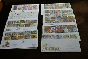 Royal Mail Greetings Stamps First Day Covers, Sold Individually,  FDC