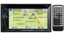 "Power Acoustik PDN-623B 2-DIN Car DVD NAV Bluetooth Receiver w/ 6.2"" Touchscreen"