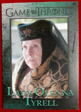 GAME OF THRONES - Season 4 - Card #72 - LADY OLENNA TYRELL - Rittenhouse 2015
