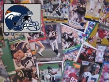DENVER BRONCOS - 1,000 Card Megalot (Assorted Players, Years, Companies)