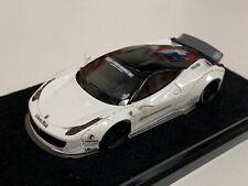 1/64 Ferrari 458  Liberty walk LB Performance Gloss White