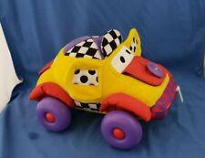 1999 LAMAZE Infant Development Plush Car Learn to Dress Sensory Activity TOY