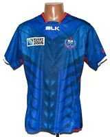 SAMOA WORLD CUP 2015 RUGBY UNION SHIRT JERSEY MAGLIA BLK SIZE L ADULT
