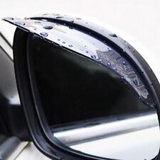 2x Schwarz Auto Außenspiegel Regenschutz Aufkleber Sonnenschutz Sicherheit