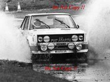 Walter Rohrl ALITALIA FIAT 131 ABARTH RAC Rally 1979 fotografia 5