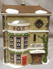 DEPT 56 KING'S ROAD POST OFFICE HERITAGE VILLAGE DICKENS CHRISTMAS BUILDING