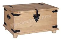 Corona Blanket Box Toy Box Trunk Solid Mexican Pine by Mercers Furniture®