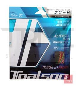Toalson Asterista Metal Rainbow 1.27mm Tennis String Set
