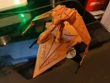 3D Printed Klingon Bird Of Prey on stand from Star Trek