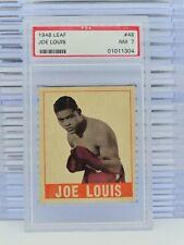 1948 Leaf Boxing Joe Louis #48 PSA 7 NM Near Mint P32