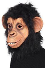 Maschera Scimpanzé in Lattice Scimmia Halloween Carnevale Travestimento