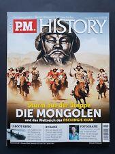 P.M. HISTORY 11/2018  Sturm aus der Steppe DIE MONGOLEN   ungel., 1A TOP Zustand