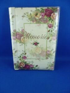 Old Country Roses Photograph Album - Royal Albert - 2002 Memories hold 24 photos