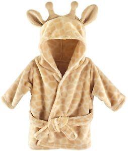 Giraffe Baby Hooded Towel Baby Bath Robe Hooded Towel For Kids Toddler Bathrobe
