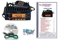 Yaesu FT-2980R 80W FM 2M Mobile Transceiver with Programming Kit and Mini Manual