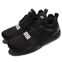 Puma Ignite Limitless The Weeknd Black White Silver Men Shoes Sneakers 189495-01