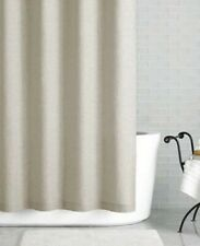 """Hotel Collection 72"""" x 72"""" Shower Curtain Bath Solid Linen NATURAL J9X035 - New"""