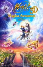 WINX CLUB 3D: MAGIC ADVENTURE Movie POSTER 11x17