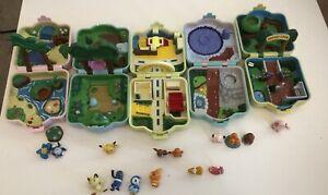AULDEY TOMY POKEMON LOT Pocket Monsters Mini Playset, Polly Pocket LOT Toys