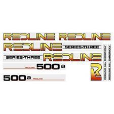 Redline 500A  Series-Three (BLACK) decal set