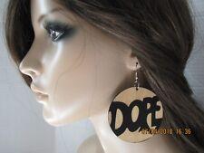 African American Earrings Dope Earrings Hip Hop Jewelry Black Girl Earrings