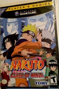 Naruto: Clash of Ninja for Nintendo GameCube T Brand New/ Sealed