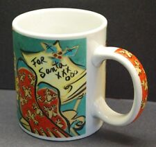 STARBUCKS 'Home for the Holidays' Coffee Mug Cup by Mary Graves 12oz