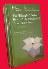 NEW DVDs 24 Lectures Philosopher's Toolkit Great Courses Teaching Company
