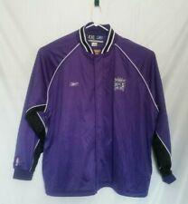 Kings Reebok Vintage 90s Purple Warm Up Jacket Men's 4XL Embroidered