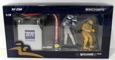 Voitures Formule 1 miniatures bleus pour Williams 1:18