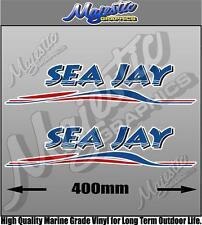 SEA JAY - 400mm x 90mm x 2 - SEAJAY BOAT DECALS