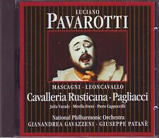 PAVAROTTI GAVAZZENI PATANE - Mascagni Pagliacci Highlights - Decca CD 1990