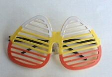 Halloween Sunglasses Candy Corn Shutter Sunglasses Discontinued Stock