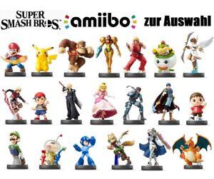 Super Smash Bros. Amiibo / Figuren Auswahl / Gebraucht & Neu / Nintendo Switch