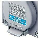 HUBBELL HBL2620SW LKG WT S/SHRD RCPT  30A 250V  L6-30R  GY