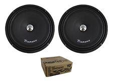 "Pair of Timpano 10"" 800W 4 Ohm Neodymium Mid Bass Loudspeaker TPT-MB10 NEO"
