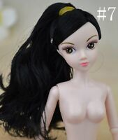 "Naked 12 Joints Chinese Doll Accessories For 11.5"" Dollhouse 1/6 Doll Body Head"