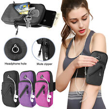 Sports Armband Gym Arm Band Case Holder Key Bag Running Jogging For Cell Phone