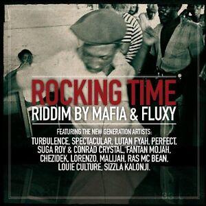 "CD NEUF ""ROCKING TIME RIDDIM BY MAFIA & FLUXY"""
