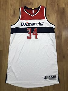 Wizards Paul Pierce Game Issued/used Rev 30 Jersey NBA Champion Boston Celtics