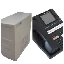 Intertel Axxent 520.0007 System With 8 X 550.4100 Executive Phones
